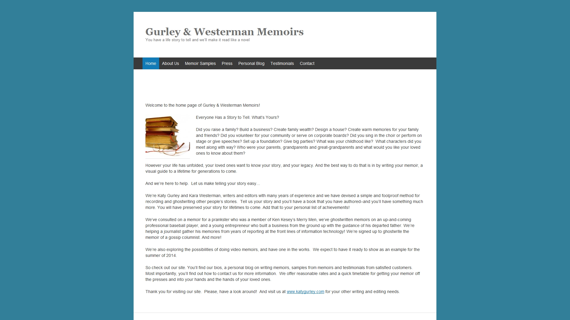 gurley and westerman memoirs