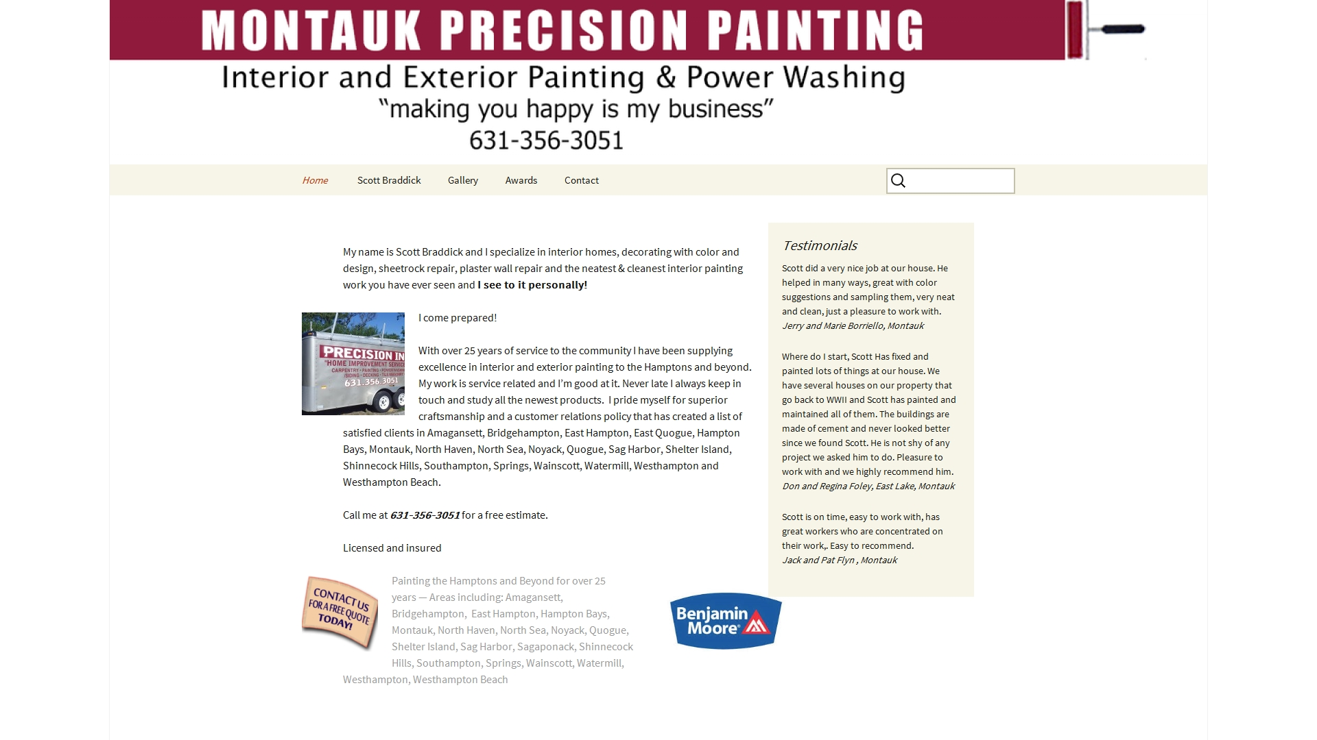 montaukprecisionpainting.com